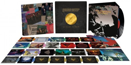 Uriah Heep: 50 Years In Rock - Super Deluxe Box Set - Limited Edition