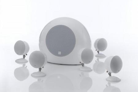 Satelitt/Sub-System-høyttalere