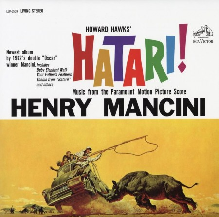 Henry Mancini: Hatari! - Music From The Paramount Motion Picture Score