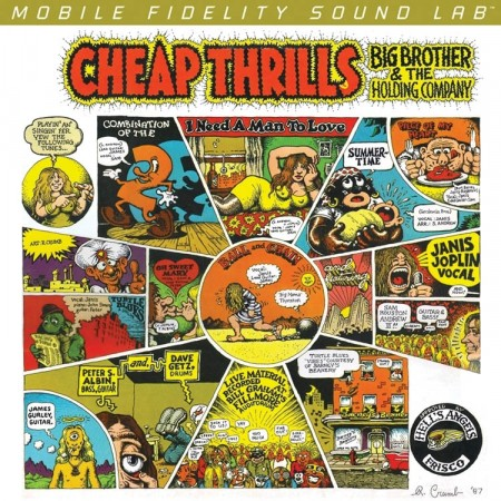 Big Brother And The Holding Co. With Janis Joplin: Cheap Thrills