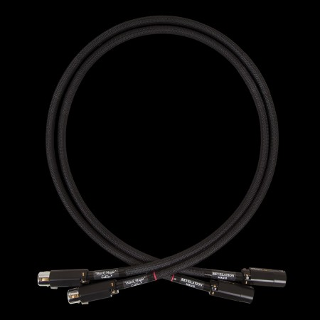 Black Magic Cables: REVELATION IC MKIII XLR - XLR G  0,8m