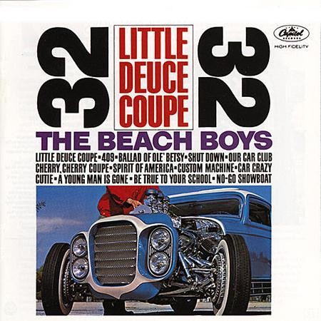 The Beach Boys: Little Deuce Coupe - Mono