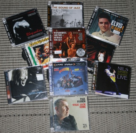 Audiofile CD- & SACD-plater