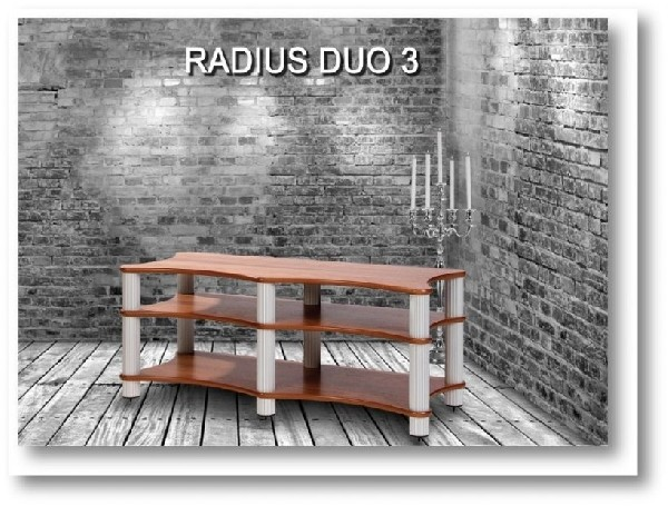DUO 3 med hylleavstand: 234,5mm + 150mm